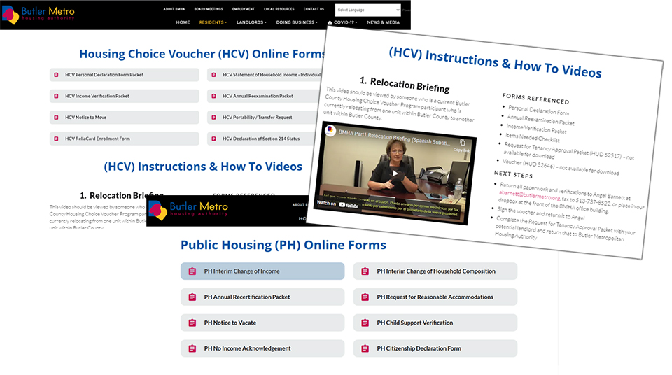 NEW Online Forms for Public Housing & Housing Choice Voucher