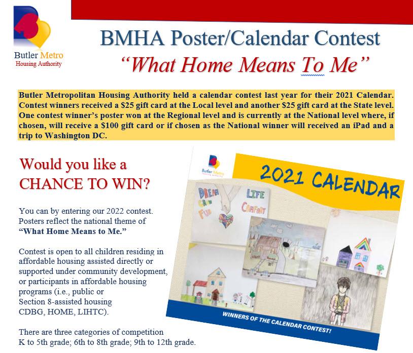 BMHA Poster / Calendar Contest